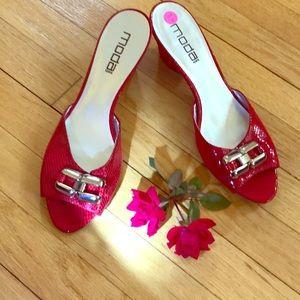 Moda Spana Peep Toe Heels 👠 Gorgeous!🔥